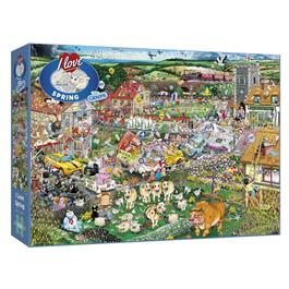 I Love Spring Jigsaw 1000pc thumbnail