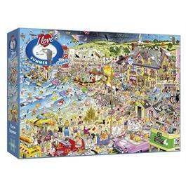 I Love Summer Jigsaw 1000pc Thumbnail Image 0
