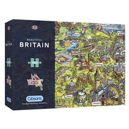 Beautiful Britain Jigsaw 1000pc Thumbnail Image 0