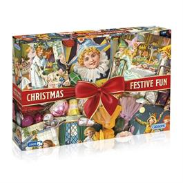 Christmas Festive Fun Jigsaw 1000pc Thumbnail Image 0