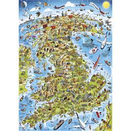 Best of British Jigsaw 1000pc (Rectangul Thumbnail Image 1