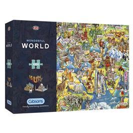Wonderful World Jigsaw 1000pc (Rectangul Thumbnail Image 0