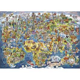 Wonderful World Jigsaw 1000pc (Rectangul Thumbnail Image 1