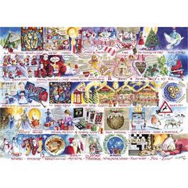 Christmas Alphabet Jigsaw 1000pc Thumbnail Image 1
