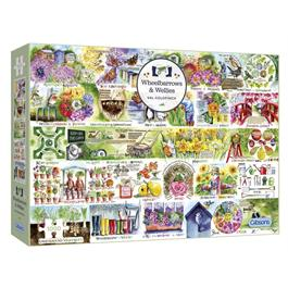 Wheelbarrows & Wellies Jigsaw 1000pc thumbnail