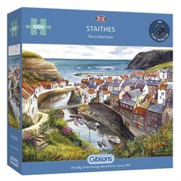Staithes Jigsaw 1000pc Thumbnail Image 0