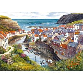 Staithes Jigsaw 1000pc Thumbnail Image 1