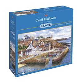 Crail Harbour Jigsaw 1000pc Thumbnail Image 0