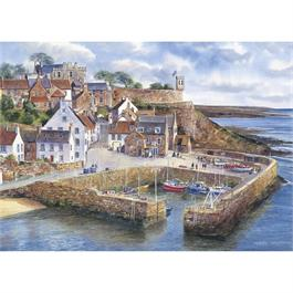 Crail Harbour Jigsaw 1000pc Thumbnail Image 1