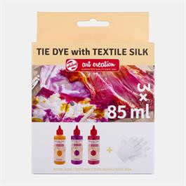 Talens Art Creation Tie Dye Set 3x85ml Pink Thumbnail Image 0