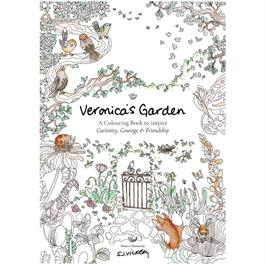 Veronica's Garden Colouring Book: To Inspire Curiosity, Courage & Friendship thumbnail
