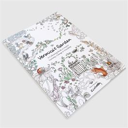 Veronica's Garden Colouring Book: To Inspire Curiosity, Courage & Friendship Thumbnail Image 1