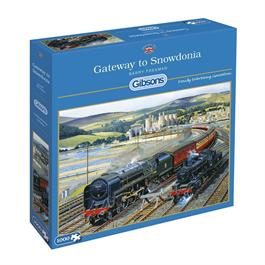Gateway to Snowdonia Jigsaw 1000pc Thumbnail Image 0