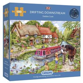 Drifting Downstream 500 Piece Jigsaw Puzzle Thumbnail Image 0