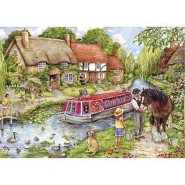 Drifting Downstream 500 Piece Jigsaw Puzzle Thumbnail Image 1