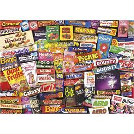 1980s Sweet Memories Gift Tin - Jigsaw 5 Thumbnail Image 1