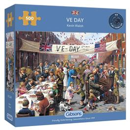 VE Day 500 Piece Jigsaw Puzzle thumbnail