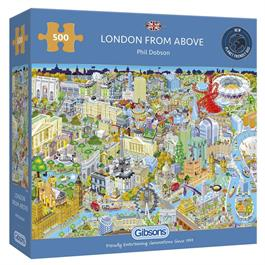 London From Above Jigsaw 500 Thumbnail Image 0