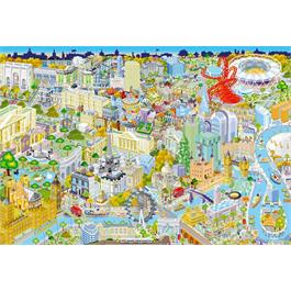 London From Above Jigsaw 500 Thumbnail Image 1