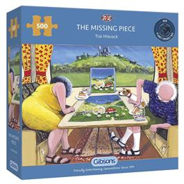 The Missing Piece Jigsaw 500pc Thumbnail Image 0