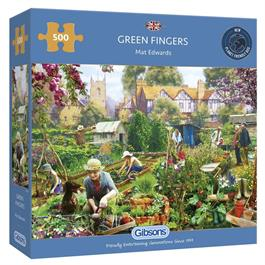 Green Fingers Jigsaw 500pc Thumbnail Image 0