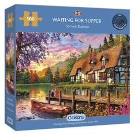 Waiting for Supper Jigsaw 500pc Thumbnail Image 0
