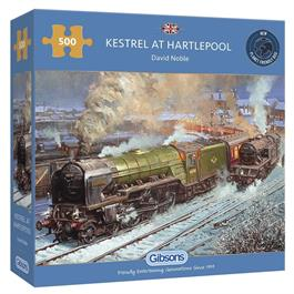 Kestrel at Hartlepool Jigsaw 500pc thumbnail