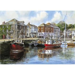 Padstow Harbour Jigsaw 1000pc Thumbnail Image 1
