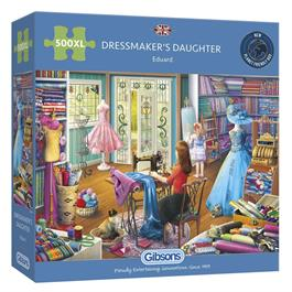 The Dressmaker's Daughter Jigsaw 500XLpc thumbnail