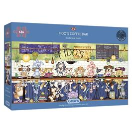 Fido's Coffee Bar Jigsaw 636pc thumbnail
