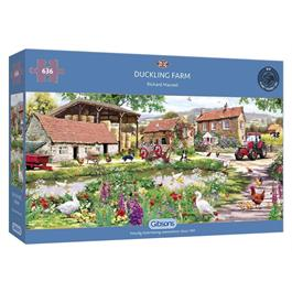 Duckling Farm Jigsaw 636pc thumbnail