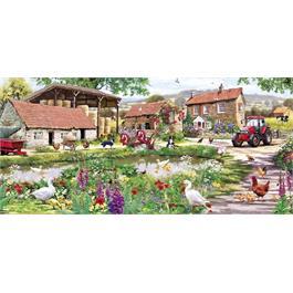 Duckling Farm Jigsaw 636pc Thumbnail Image 1