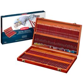 Derwent Pastel Pencils Wooden Box of 72 thumbnail