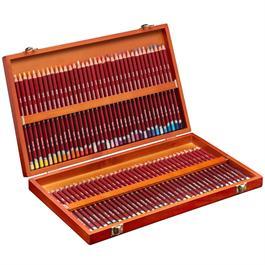 Derwent Pastel Pencils Wooden Box of 72 Thumbnail Image 1