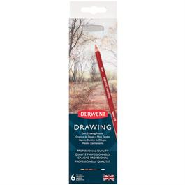 Derwent Drawing Pencils 6 Tin Thumbnail Image 2