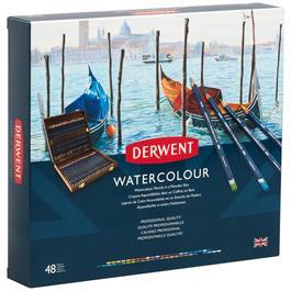 Derwent Watercolour Wooden Box of 48 Thumbnail Image 2