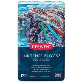 Inktense Block Tin of 12 Thumbnail Image 1