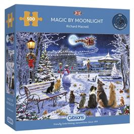 Magic By Moonlight 500 Piece Jigsaw Puzzle thumbnail