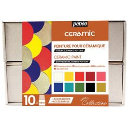 Pebeo Ceramic Collection Set 10 x 45ml thumbnail