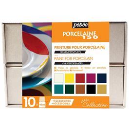 Pebeo Porcelaine 150 Collection Set 10 x 45ml thumbnail