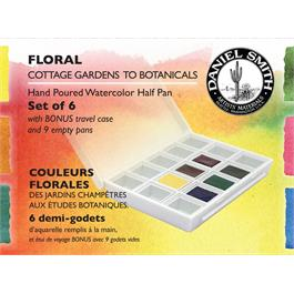 Daniel Smith Watercolour FLORAL Half Pan set of 6 thumbnail