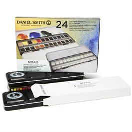 Daniel Smith 24 Watercolour Half Pan Metal Box Thumbnail Image 2