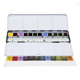 Daniel Smith Colours of Inspriation - 12 Half Pan Metal Box Thumbnail Image 1