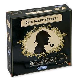 221B Baker Street Sherlock Holmes Family Game thumbnail