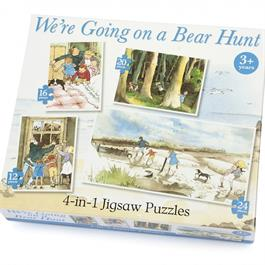 We're Going on a Bear Hunt 4 in 1 Jigsaw Puzzle Set thumbnail