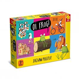 Oi Frog 35 piece Jigsaw Puzzle thumbnail