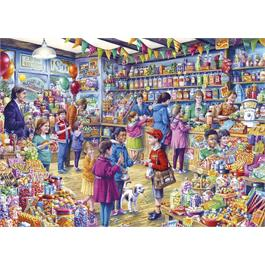 The Old Sweet Shop 500XL Piece Jigsaw Puzzle  Thumbnail Image 1
