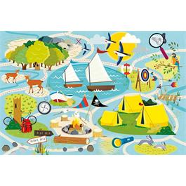 Camp Gibson 36 Piece Children's Jigsaw Puzzle Thumbnail Image 1