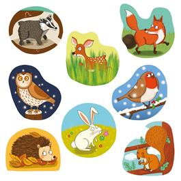Woodland Friends Children's Jigsaw Puzzles Thumbnail Image 1