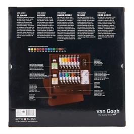 Van Gogh Oil Colour Inspiration Wooden Box Thumbnail Image 2